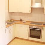Küche in einem Bewohnerzimmer